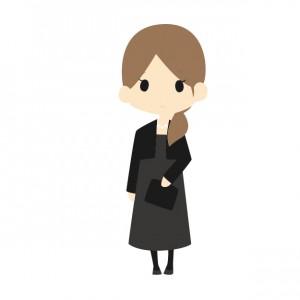 法事の女性の服装