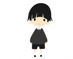 法事の服装(子供)