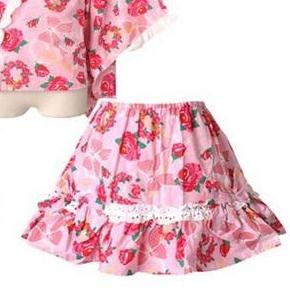 浴衣ドレスのスカート