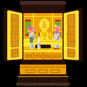 お盆の仏壇へのお供え