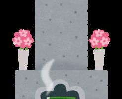 お盆のお墓参り