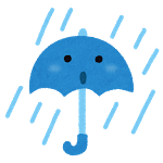 自転車の雨の日対策