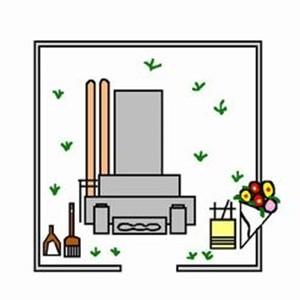 お墓の掃除方法