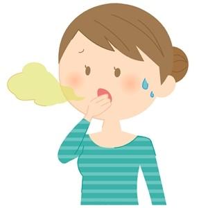 親知らずの抜歯後の匂い