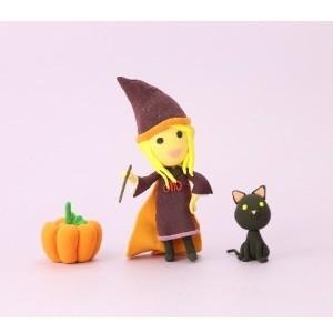 ハロウィン仮装の魔女