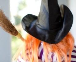 ハロウィン仮装の子供