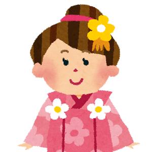 七五三の女の子の髪型