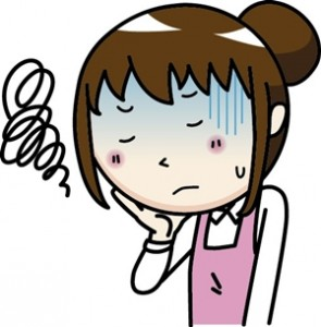 口内炎の原因はストレス