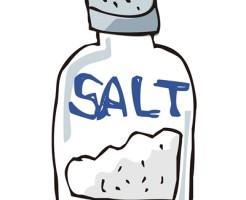 口内炎を治す塩