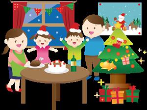 クリスマスケーキの手作りデコレーション