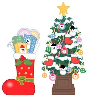 クリスマスツリーの飾りを簡単に飾り付ける