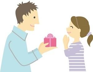 クリスマスプレゼントを妻に