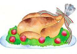 クリスマスディナーのレシピ