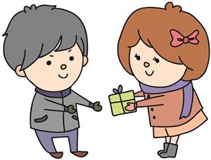 クリスマスプレゼントを渡す日