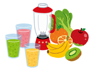 野菜ジュースのレシピ