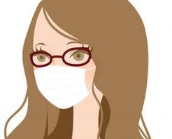 マスクでメガネが曇る
