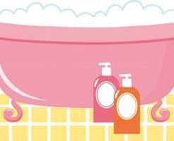 お風呂で皮膚や肌がかゆい