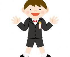 卒園式の男の子の服装