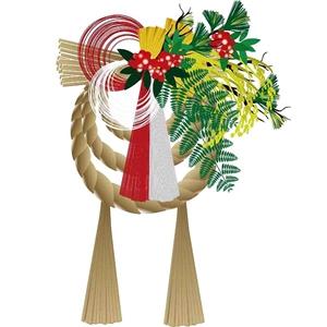 正月飾りのしめ縄の意味