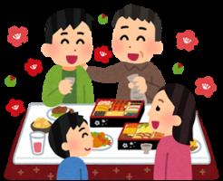 正月三が日の食事