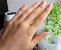爪がボロボロ