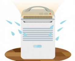 梅雨の洗濯物を乾かす家電