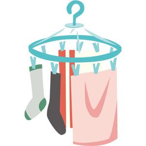 梅雨の洗濯物の対策