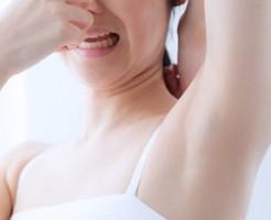 脇汗の臭いの原因と対策