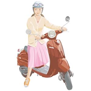 バイクのヘルメットの汗対策