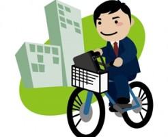 自転車通勤の汗対策