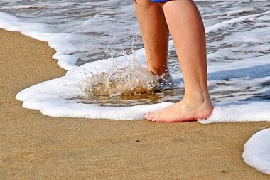 水着の砂の取り方とは